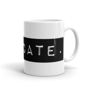 Medicate. Mug